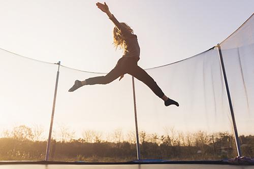 urinary incontinence freedom trampoline